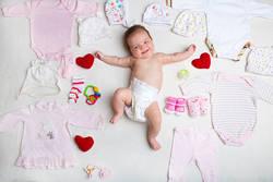 新生児の肌着、単肌着・長肌着・コンビ肌着のどれが便利?