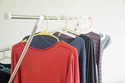 洗濯物が乾きづらい冬は、「夜から干す」が効果的!