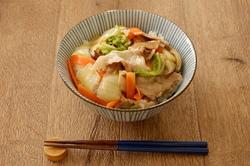 低カロリーながら栄養素はたっぷり!「豚肉と白菜のあんかけ丼」【男の和ごはん・丼物編#22】