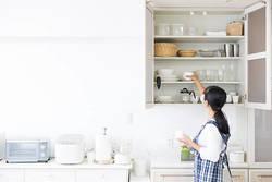 【食器収納術】100均・無印グッズで取り出しやすさアップ!【二人暮らし向け】