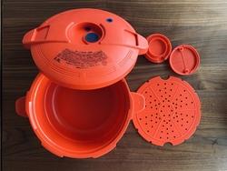 【時短アイテム】レンジで使える圧力鍋!一人暮らしのお手軽料理法