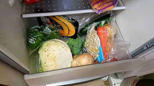 野菜・果物はまとめ買い