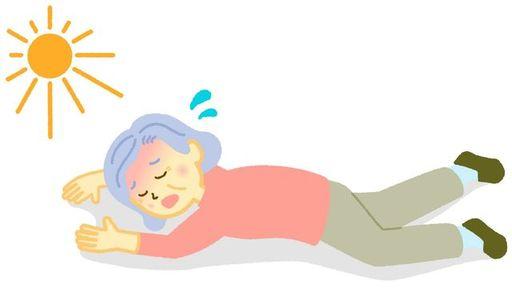 高齢化に伴い、熱中症による死者数が増えているという(写真:chaffflare/PIXTA)