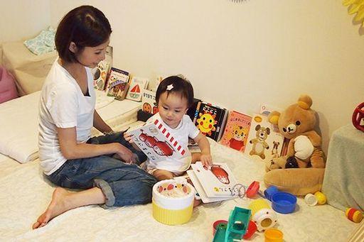 家事代行の間は子どもとゆっくり過ごす(写真:マイカジ編集部)