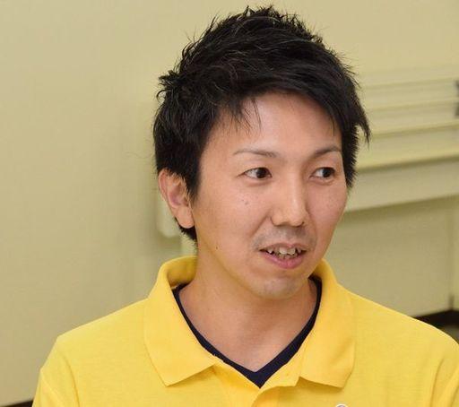 ライフキネティック公認マスタートレーナーである中川慎司氏(筆者撮影)