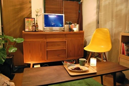 コンパクトな部屋でも家具の高さをそろえれば広く見える