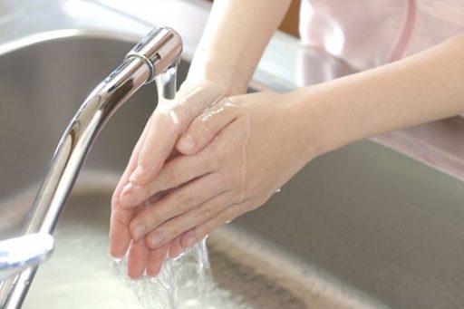 手を洗う時にも、異物感が残っていないかチェックしよう