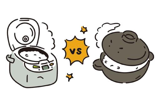 炊飯器 VS 土鍋+ガスコンロ どちらが安上がり?