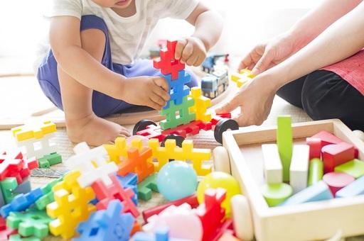 散らかりがちなおもちゃをスッキリ収納