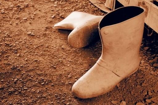 意外なタブーが長靴での避難