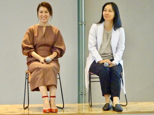「女性特有の変化・悩みに答える大草直子さんと浜中聡子先生による女性の #元気貯金セミナー」が東京都で開催された