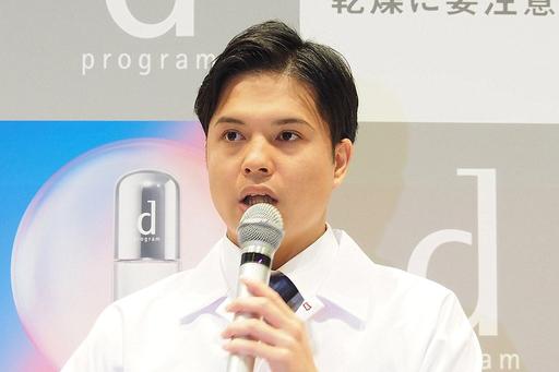 資生堂グローバルイノベーションセンター研究員の村田大知氏は「研究によって得られた新知見が、女性の皆さまの美容に役立つと嬉しい」と話す