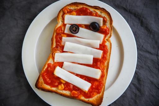 不気味だけどおいしい、マミーの血みどろトースト