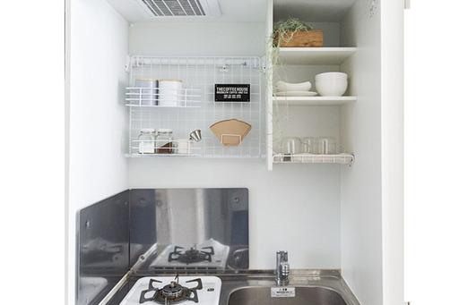 DIYで壁面を有効活用して、収納力も使いやすさもアップ!