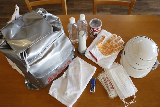 災害用の飲食物の備蓄とともに、必要なものを避難用に持ち出せるよう準備しておくのがおすすめだ