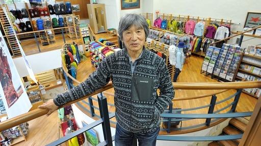 登山家でもある創業者の辰野勇氏(写真:ヒラオカスタジオ)