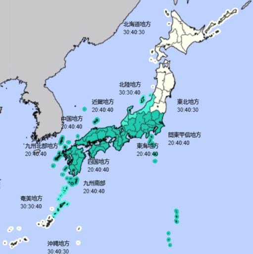 6月降水量(出所:気象庁HP)