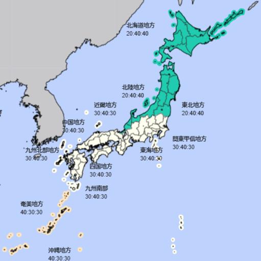 7月降水量(出所:気象庁HP)