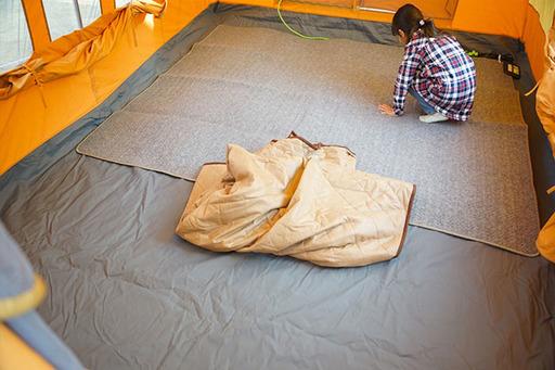 電源が確保できるオートキャンプ場で使用できる