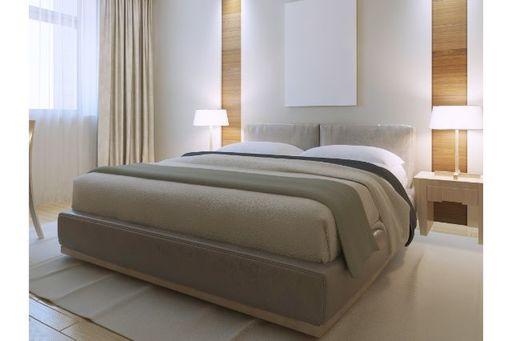 ベッドまわりにこだわるのもホテル風コーデの醍醐味