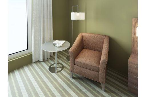 座り心地の良い一人掛けソファでリラックスタイムを
