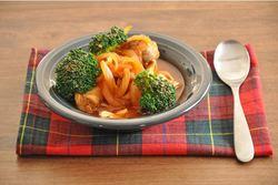 美肌効果を期待!チキンとブロッコリーのトマトスープ煮 |エイジングケアは安くおいしく!