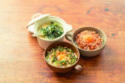 【コンビニ飯レシピ】時短!卵かけごはんアレンジ3<やみつきツナ/中華雑炊/たぬき卵>