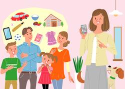 【ひまわり一家のお悩み解決道場(2)】 FPが教える住居費・食費・お小遣いの適正額と節約方法