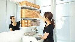 家事効率がアップする洗濯機まわりの収納術|洗濯機まわりを気持ちよく使うための秘訣