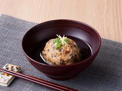 免疫力を上げる 里芋と豆腐の揚げ団子
