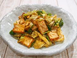 【きょうの健康レシピ】厚揚げの回鍋肉風