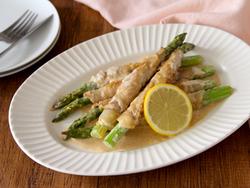 【きょうの健康レシピ】減塩でもおいしい! 肉巻きアスパラのクリーム煮