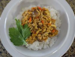 【きょうの健康レシピ】ツナのカレーそぼろ飯