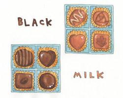 ミルクorブラック? チョコレートのカロリーの落とし穴