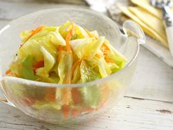 【きょうの健康レシピ】春キャベツとニンジンのレモンマリネ