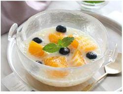 【きょうの健康レシピ】フルーツタピオカの豆乳ソース