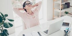 適度な休憩で仕事の効率化を高めよう。オフィスで実践したい五感別リフレッシュ法