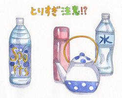 【特集/いい汗悪い汗】 夏の水分補給。で、塩分摂取は?