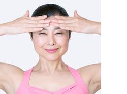 顔ヨガ/劇的目力アップポーズ