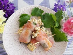 【きょうの健康レシピ】エノキの肉巻き