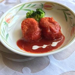 【きょうの健康レシピ】冷凍クリームコロッケのトマト煮