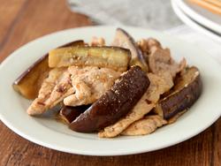 【きょうの健康レシピ】減塩でもおいしい 豚肉とナスのさっぱりポン酢いため