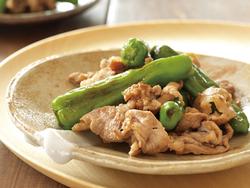 【きょうの健康レシピ】簡単豚肉の梅肉いため
