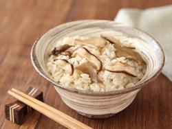 【きょうの健康レシピ】減塩でおいしい キノコの混ぜご飯