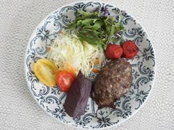 【きょうの健康レシピ】赤ジソハンバーグ