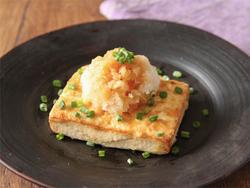 【きょうの健康レシピ】ポン酢でさっぱり 豆腐ステーキ
