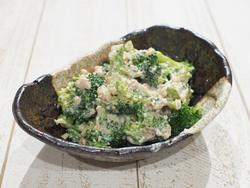 【きょうの健康レシピ】ブロッコリーのクルミみそあえ
