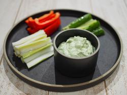 【きょうの健康レシピ】バジル香る豆腐ディップ