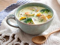 【きょうの健康レシピ】アサリのミルクチャウダー