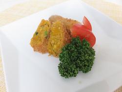 【きょうの健康レシピ】簡単万能ミルク肉そぼろのカボチャコロッケ
